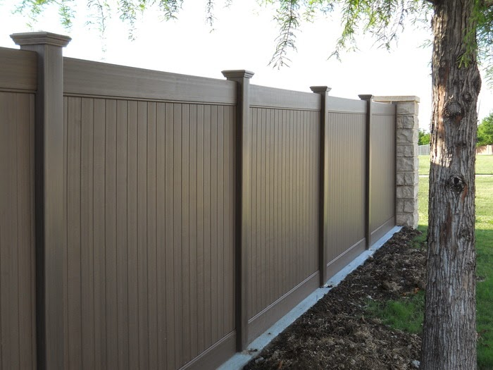 Vinyl fence installation Amarillo